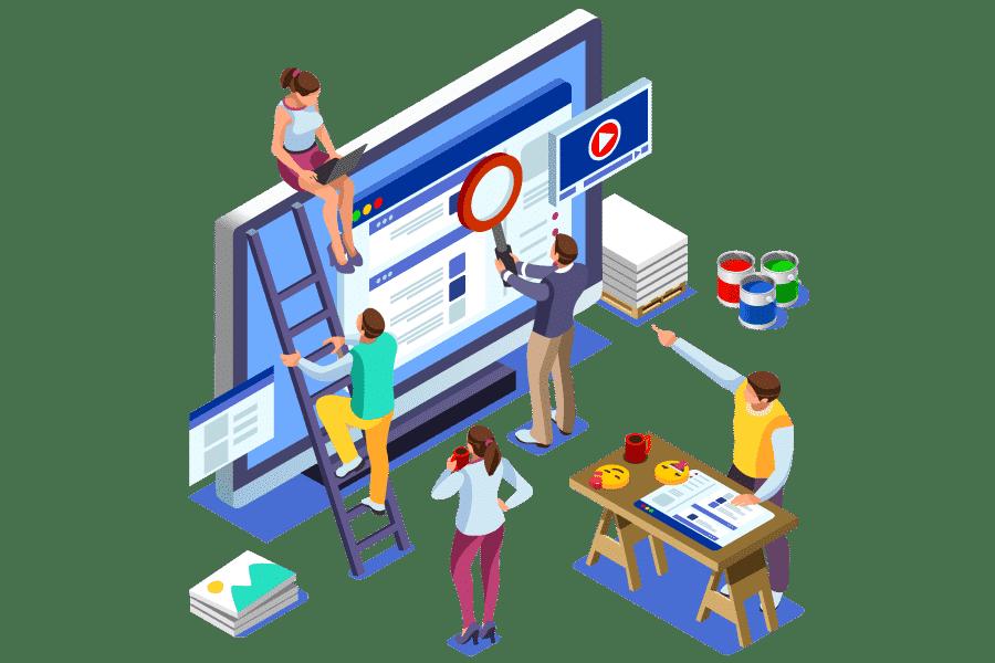 Criação de sites profissionais preço