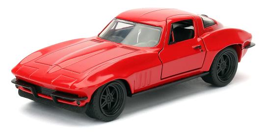 coleccion rapido y furioso, coleccion rapido y furioso jada tyos, coleccion rapido y furioso 1/32, Letty's Chevy Corvette