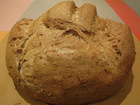 Pan redondo de cereales