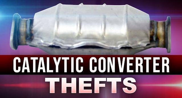 Catalytic converter thefts in Elk Grove California