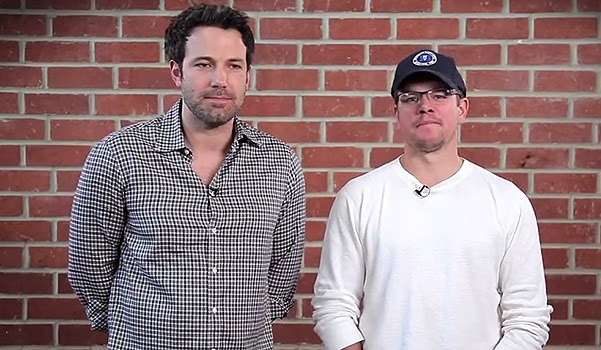 Ben Affleck and Matt charity