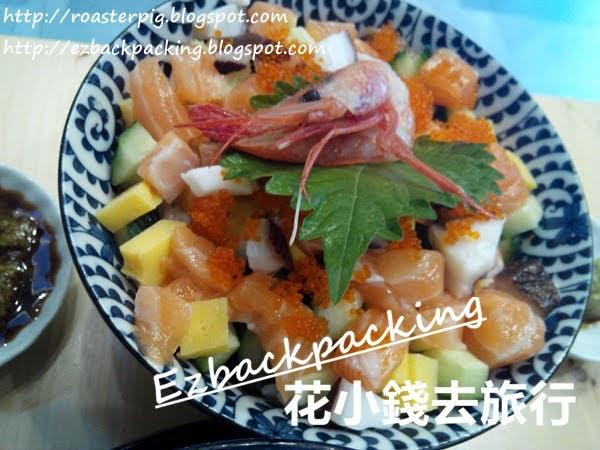 大埔魚生飯