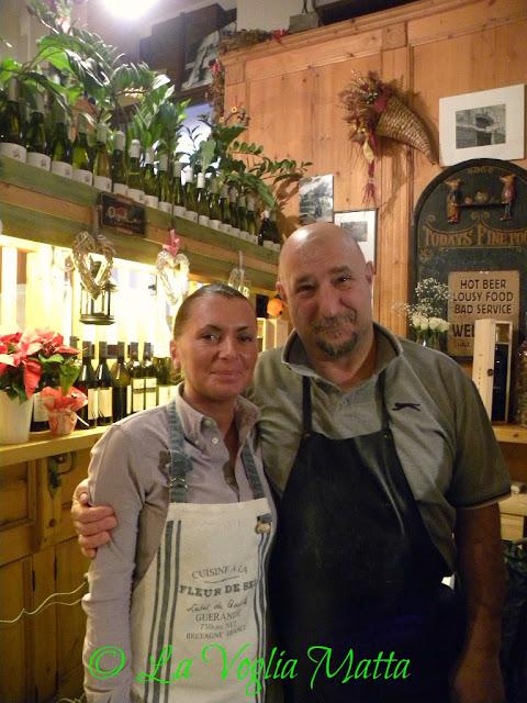 """Mihaela e Giorgio de l'Antica Osteria """" Ai Maestri """""""