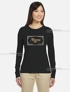 baju mahasiswa long sleeve tshirt alumni uny2