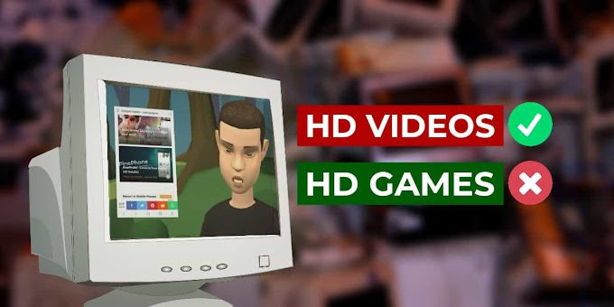 Why Old PC Can Run HD Videos But, Not HD Games?