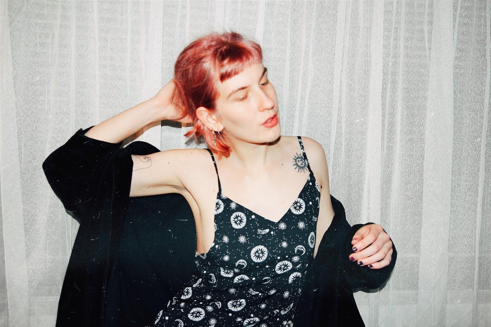 filipa canic, filipendae, filipendae blog, youarethepoet, pink hair, grunge, horse,