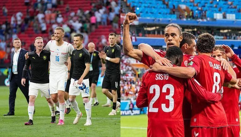 مباراة التشيك والدنمارك اليوم