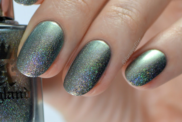 holographic swatch katyusha a england close up review