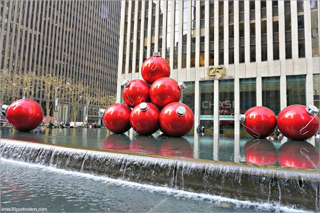 Bolas Gigantes de Navidad, Nueva York