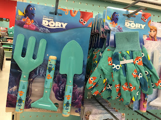 finding dory garden tools