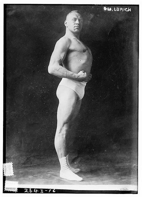 Georg Lurich, circa 1910.