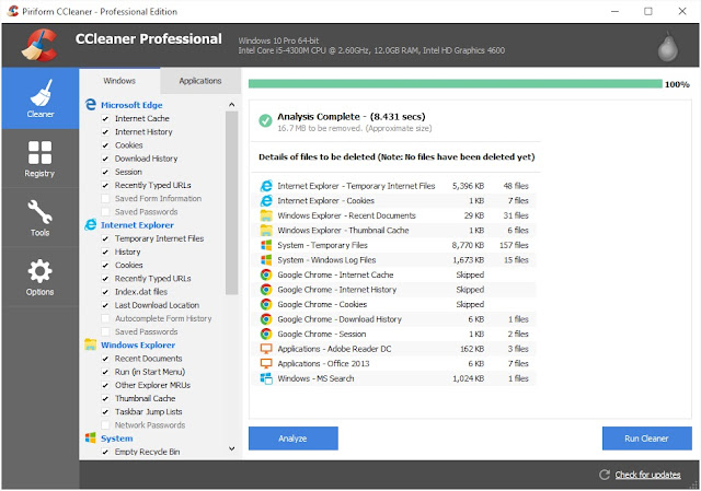 Download and Install the Latest CCleaner Final