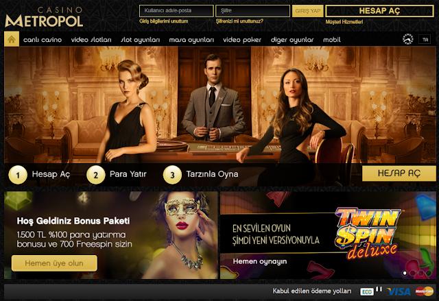 Casino Metropol Harika Bonuslar