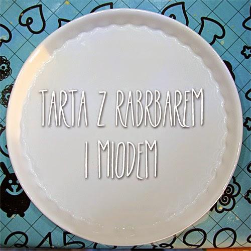 tarta przepis tarta z rabarbarem