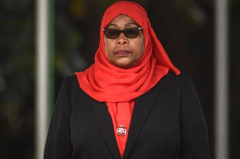 Samia Suluhu Hassan Sworn In As Sixth President Of Tanzania