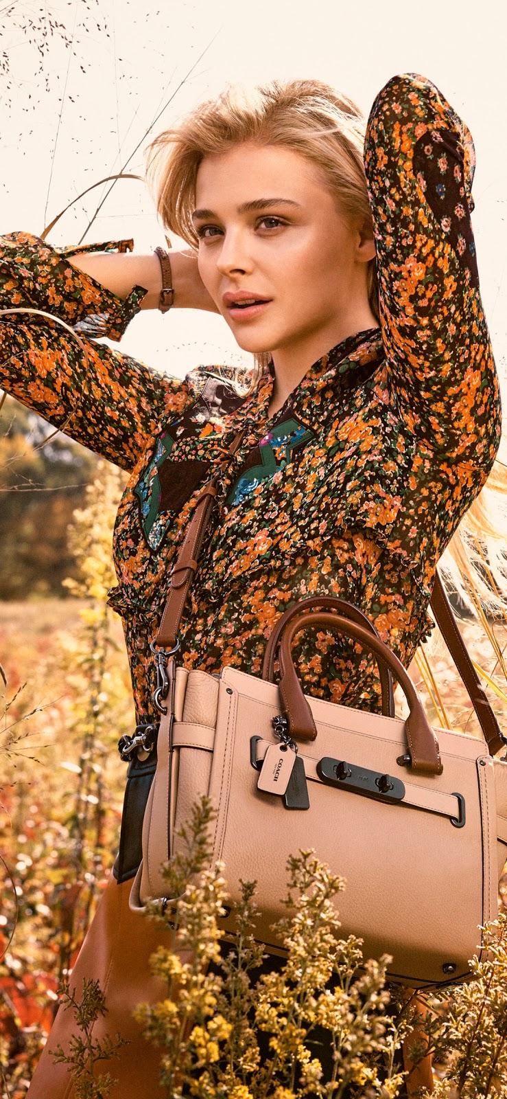 Chloë Grace Moretz outdoor photo shoot mobile wallpaper ...