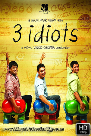 3 Idiotas (2009) [1080p] [Hindi Subtitulado] [MEGA]