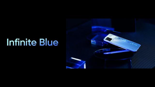 Realme 8 Series Infinite Blue Color