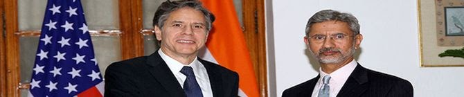 EAM Jaishankar Us Secretary of State Blinken Discuss Security Issues In Afghanistan Myanmar