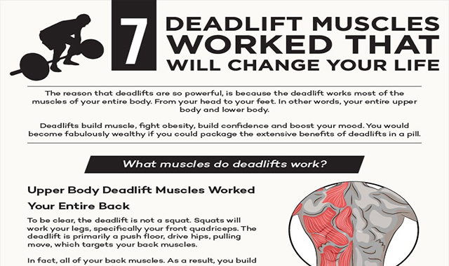 7 Deadlift Muscles Worked That Will Change Your Life