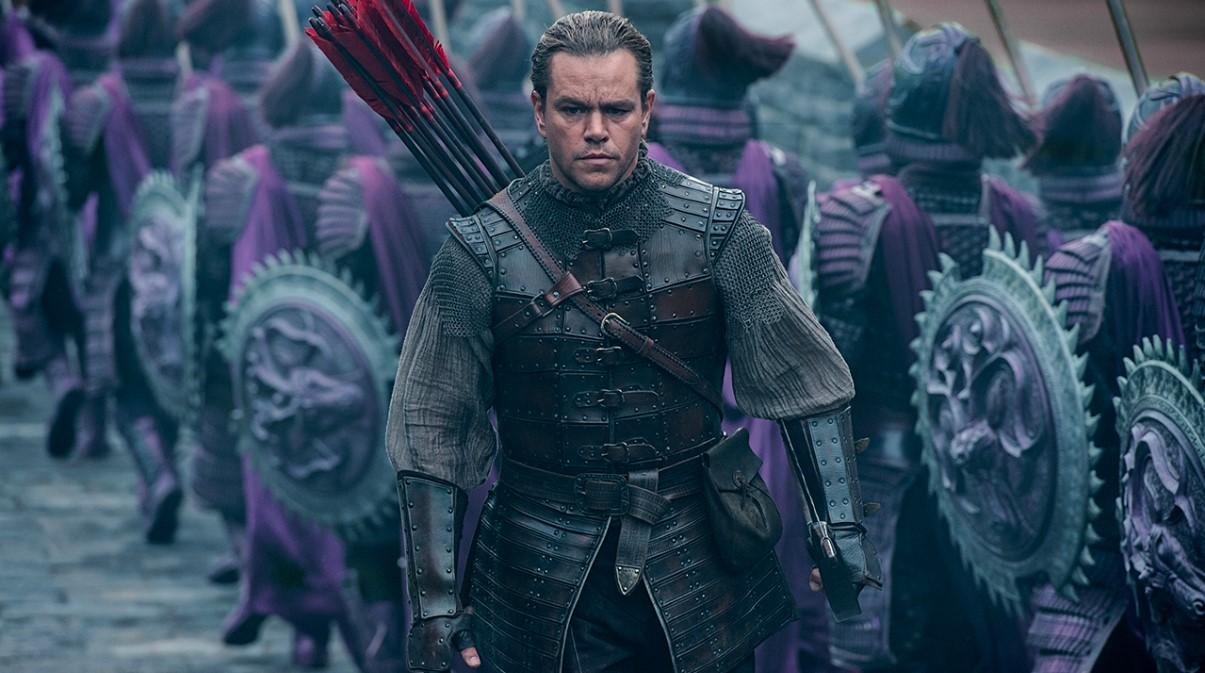 """Os monstros são revelados no 2º trailer de """"A Grande Muralha"""", com Matt Damon"""