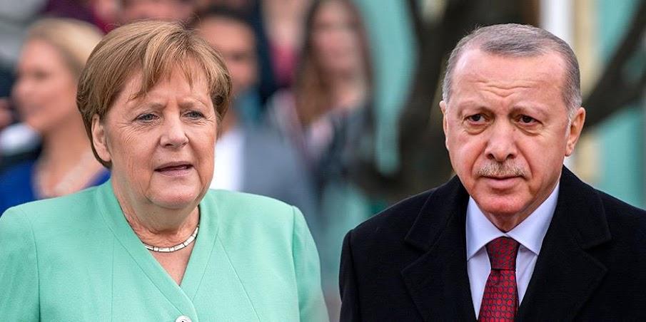 Τις ευρωτουρκικές και τις διμερείς σχέσεις συζήτησαν Ερντογάν- Μέρκελ