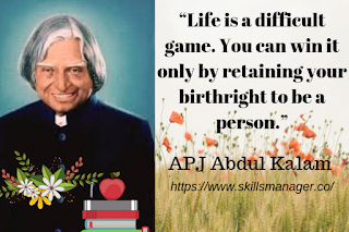 """Life is a difficult game. You can win it only by retaining your birthright to be a person."""