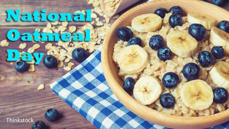 National Oatmeal Day Wishes Photos
