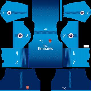 Arsenal - Dream League Soccer 2021 Forma Kits & Logo