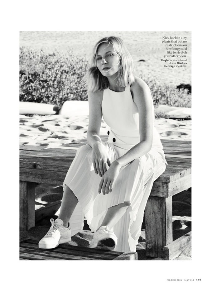 Kirsten Dunst in InStyle - Photo Kirsten Dunst 2016