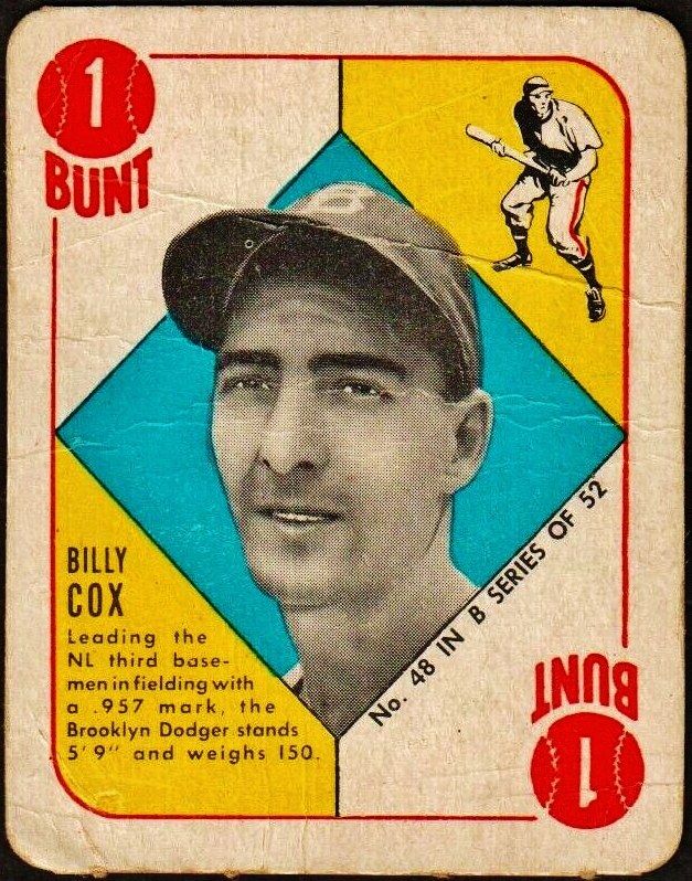 20th Century Topps Baseball Completion Of All 106 Cards In The 1951