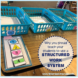 Structured Work System in Special Education