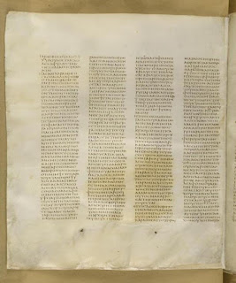 Codex Sinaiticus Gospel of James