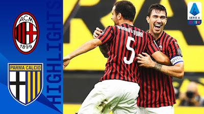 Video AC Milan 3-1 Parma: Vòng 33, VĐQG Italia