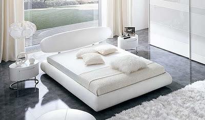 Dormitorios color blanco for Habitaciones matrimonio baratas