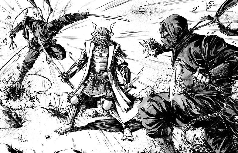 Seguindo Os Passos Da Historia Ninjas X Samurais Cronicas De Uma