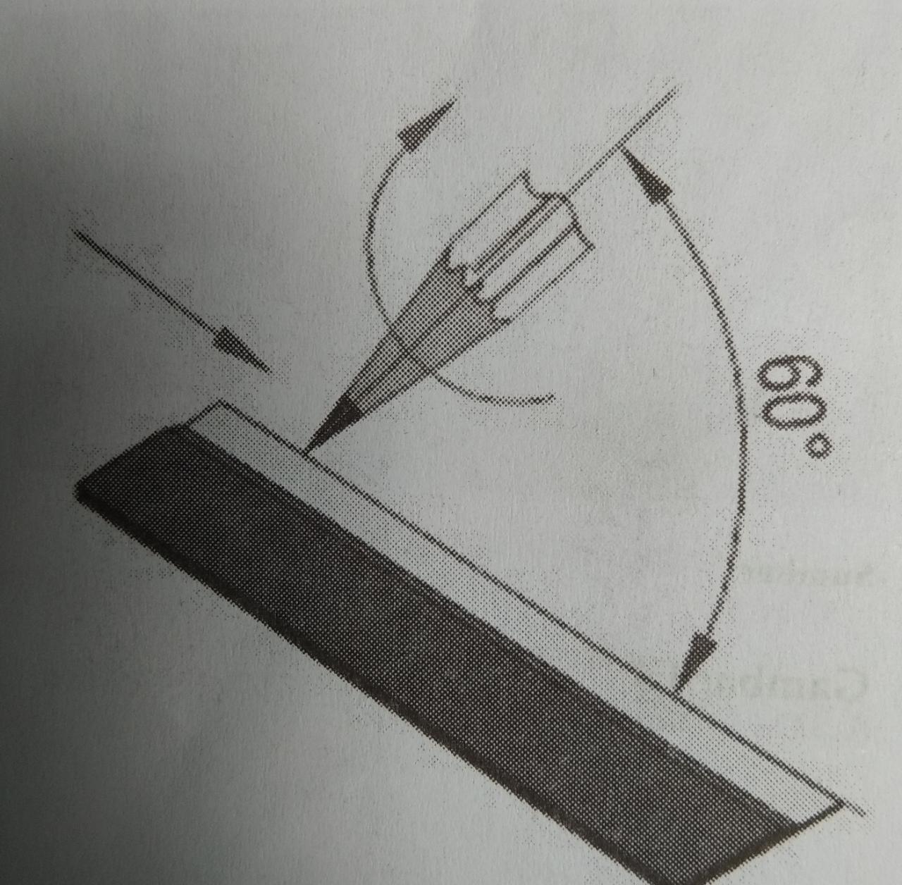 Gambar teknik mesin: Pensil