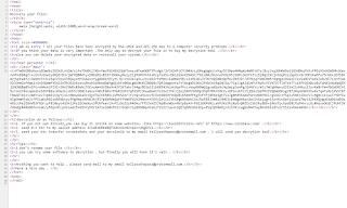 Tellyouthepass Ransomware code код