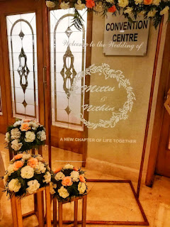 Acrylic Sheet Wedding Board Decoration - Kerala