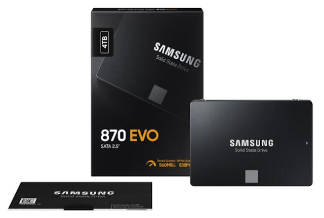 SSD Samsung 870 EVO
