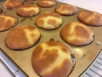 Gluten Free Light & Fluffy Orange Muffins