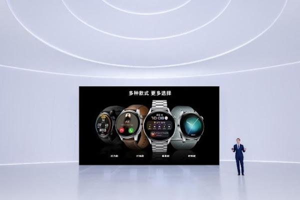 Huawei anuncia o lançamento da Huawei Watch 3 Series, a nova série de smartwatches com o sistema operativo HarmonyOS 2