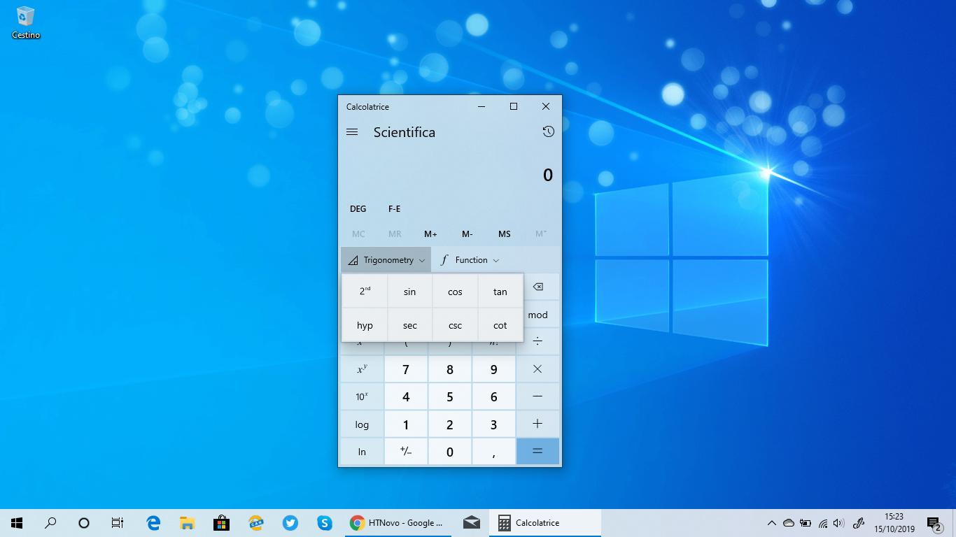 Calcolatrice-Windows-10-nuove-opzioni