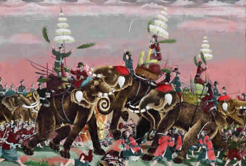 Siamese-Burmese War