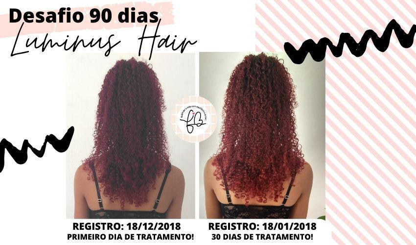 luminus hair antes e depois