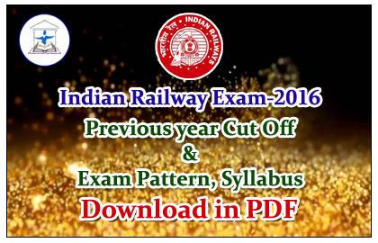 Rrb Railway Syllabus 2016 Pdf