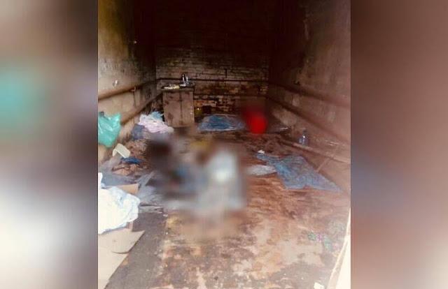 В Забайкальском крае нашли гараж-морг с телами мёртвых людей