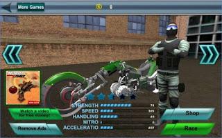 Game Police Sci Fi Bike Rider 3D App