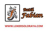 Loker Tenaga Operasional/Tenaga Serabutan Bisa Sopir di Batik Fabian Solo