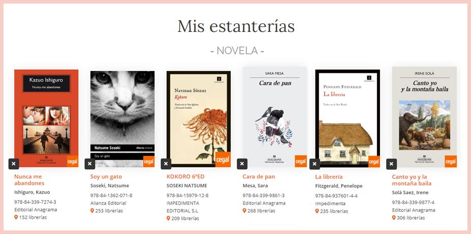 Todos tus libros web Cegal